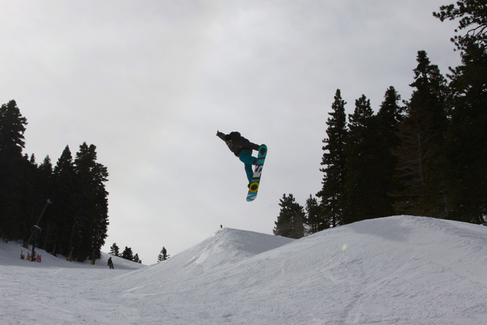 Nose Grab on Lower Chisolm.