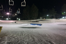 Park Laps Under the Night Lights.