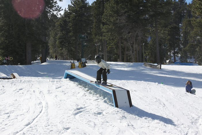 Top to bottom hot laps in the park with features for all levels of riding.