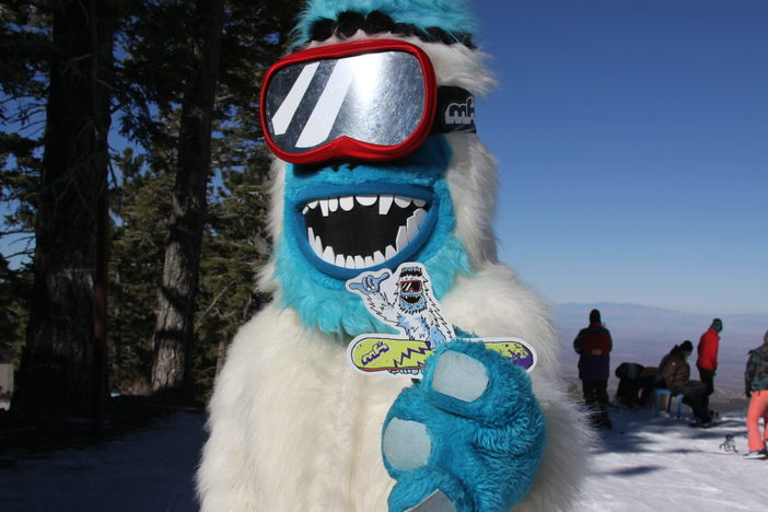 #HaveYouSeenHim Get your Yeti stickers today!