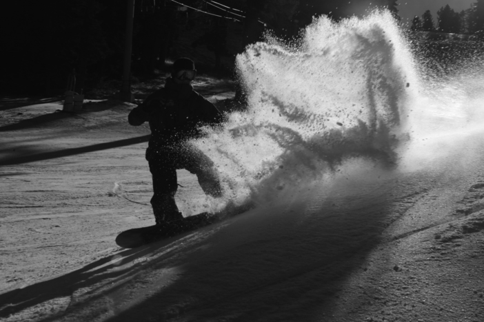 Slashing turns on Lower Chisolm.  Stashes are ready to be sprayed!