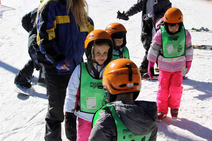 Learning to ski and ride!