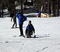 Winter Sports School's adaptive ski program.