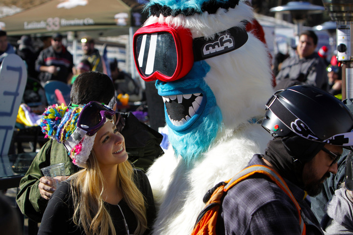 Everybody was showing love for the Yeti.  #Haveyouseenhim ?