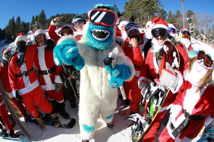 Yeti was on the loose today! #MHSantaSelfie