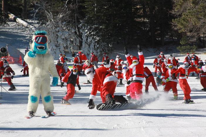 Run Yeti, Run!!! #MHSantaSelfie