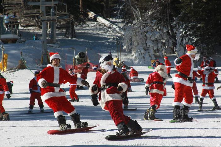 When Santa Attacks!!! #MHSantaSelfie