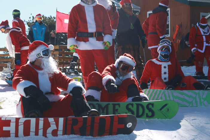 #YetiFaces!!! on Santa Ride Day!