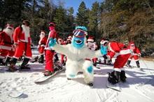 #MHSantaSelfie Santa Ride Day!