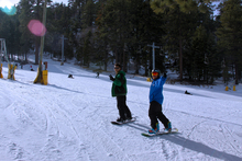 Private lessons taught 7 days a week at our Winter sports school.