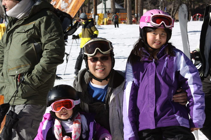 Family trip to the snow.