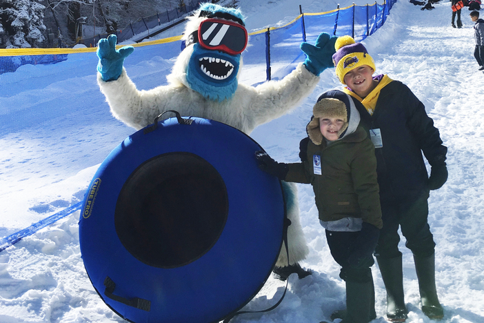 The Yeti Snow Park at our East Resort. Open weekends and holidays 8:30am-8:30pm.