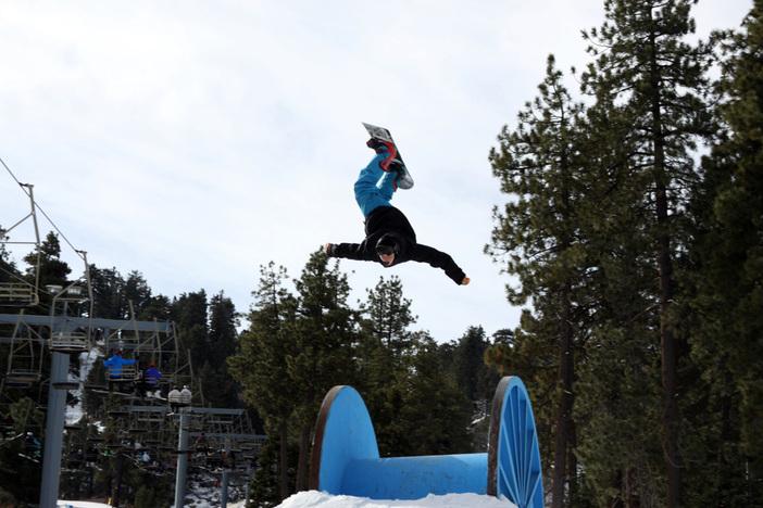 GIANT Backflip over the Giant Spool.