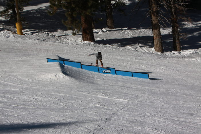 Triple your fun on the triple sec rail.