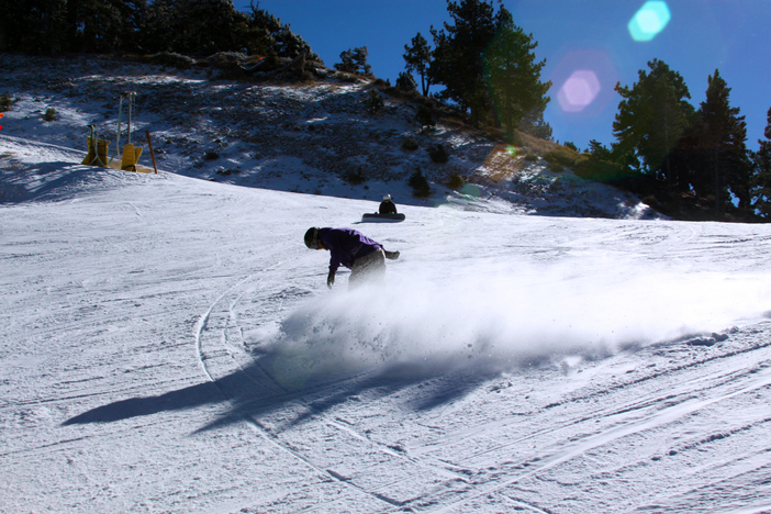 Carving up Lower Chisolm.