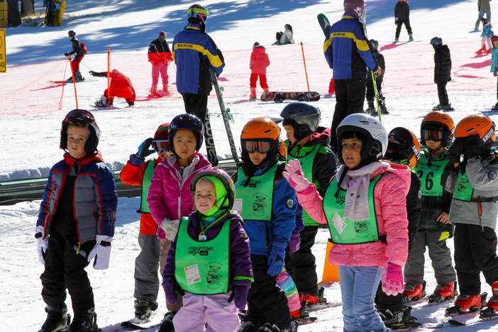 Start'em young in our Winter Sports School Academy.