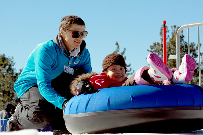 Tubing is open every day from 8:30am to 5pm.  Arrive early to get your spot.