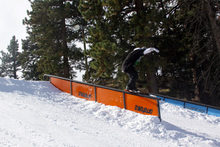 The  Brand New ThirtyTwo rail is set up on Lower Chisolm.