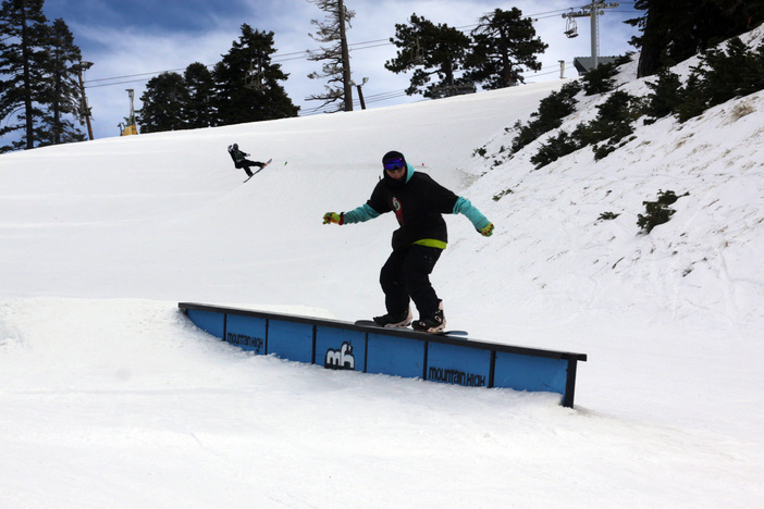Backside 180 On, Switch 50-50, Cab 360 Out.