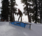 Boardslide on the A-Frame at the top of Chisolm.