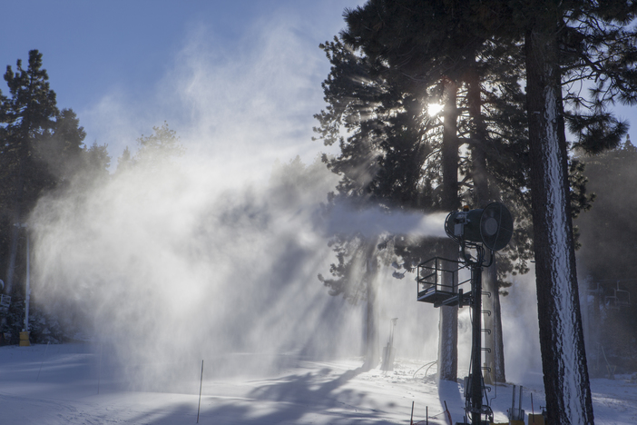 Snowmaking has been incredible. Look for more features, more runs, and more snow this week.