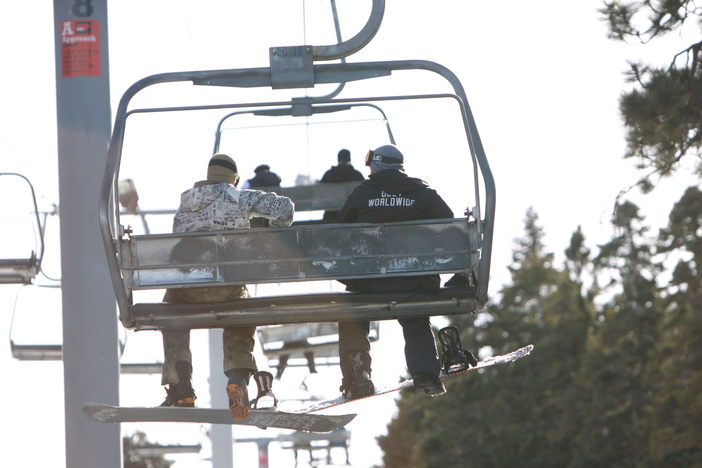 BFF's on the lift.