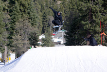 360 Indy grab over the table jump on creekside.