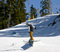 Ski Slide on the A-Frame Rail