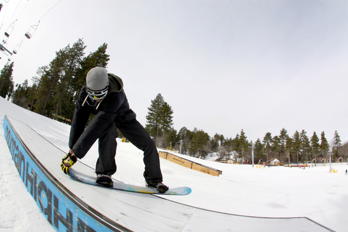 Double Tailgrab on the playground flat box.