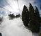 Excellent snowmaking on Borderline and Wyatt.