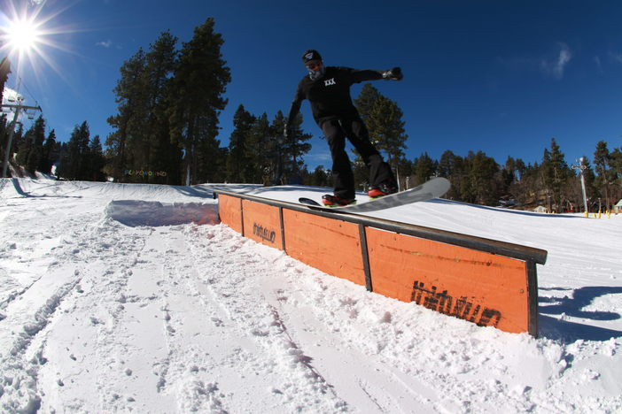 #32TF @thirtyTwo Down rails set up in the playground.