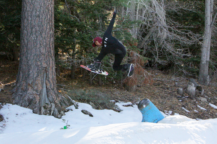 One footer off the Fire Hydrant pole jam.