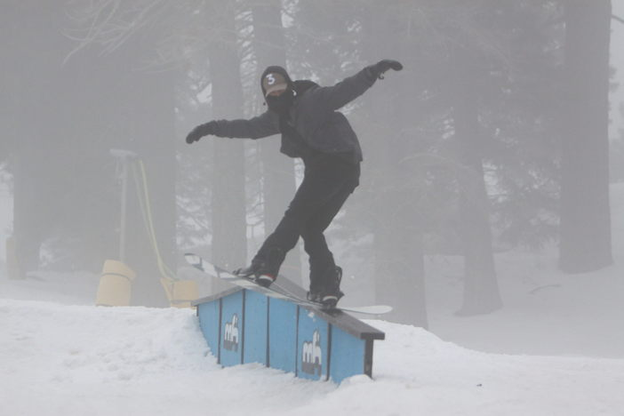 Typical snowboarder arms... Lol.