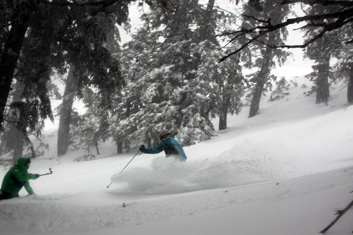 Finding those deep pow stashes on Calamity.