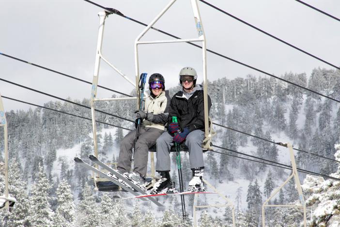 It's a Winter Wonderland at Mountain High.