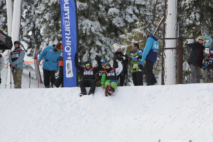 Getting the good vibes and hype flowing before the USASA competition yesterday.