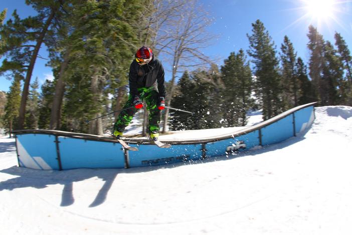 Ski slide through the biloxi box.
