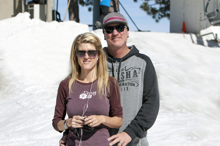 Enjoying President's Day weekend on the slopes.