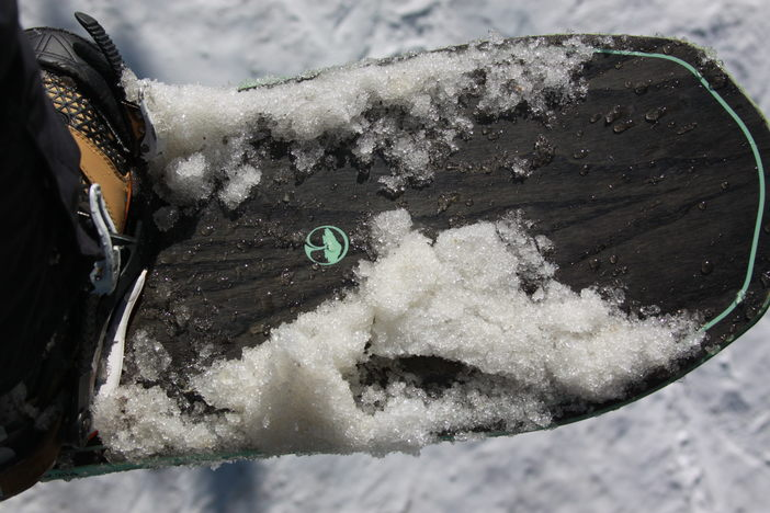 Arbor Snowboards, at home in it's natural element.