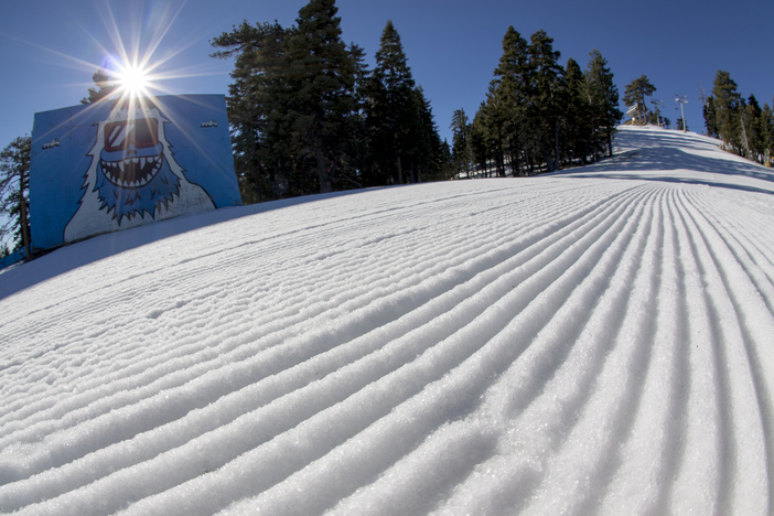 Get here early for the best conditions and fresh corduroys.
