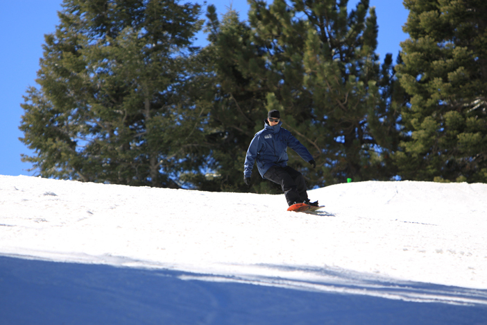 Come enjoy the beautiful sunshine and wide open slopes.