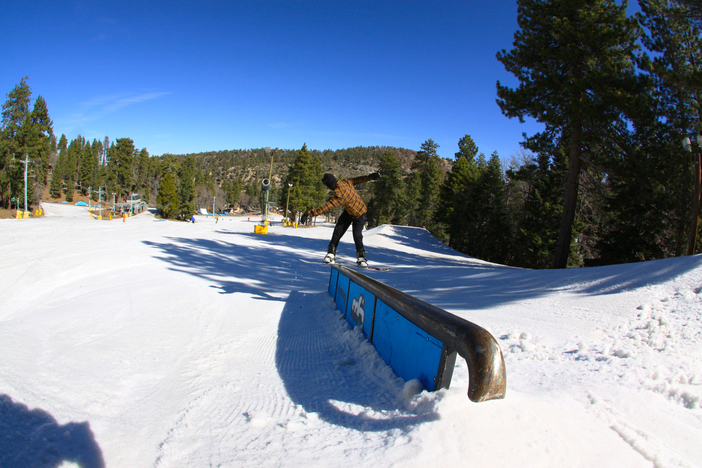 Front Board on the new Creekside Down Rail.