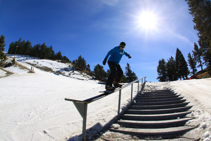 Plenty of beginner to advanced features in the park.