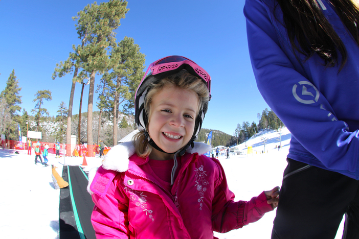 Learn to turn at our Winter Sports School Childrens Academy!