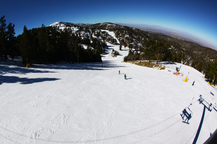 Enjoy those weekday wide open runs. Steep and fast on Wyatt.