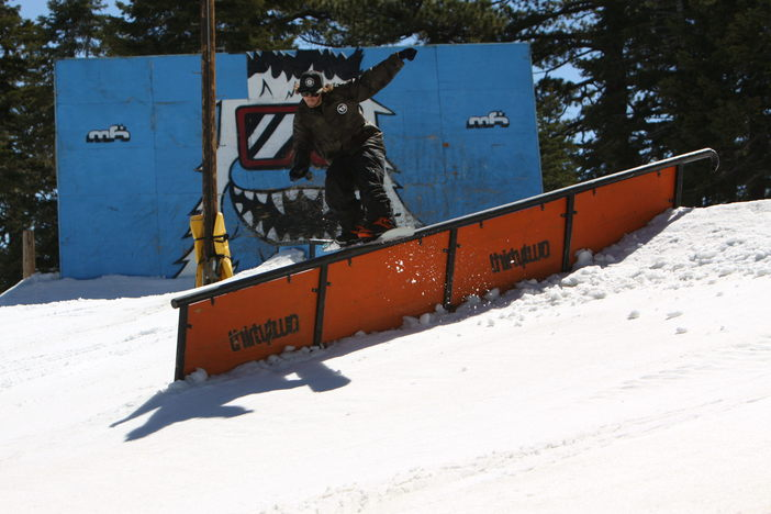 #32TF @ThirtyTwo Down Rail set up on the Wedge.