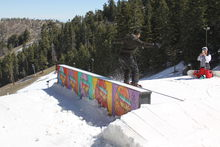 PengSteeze box out on Lower Chisolm.