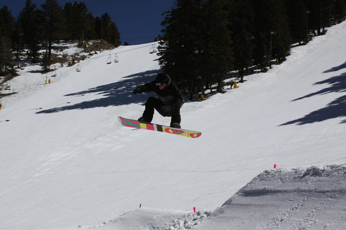 Find the jump that fits your skill level. Beginner jumps on Creekside, Medium Jumps on Cruiser, Advanced jumps on Upper & Lower Chisolm.