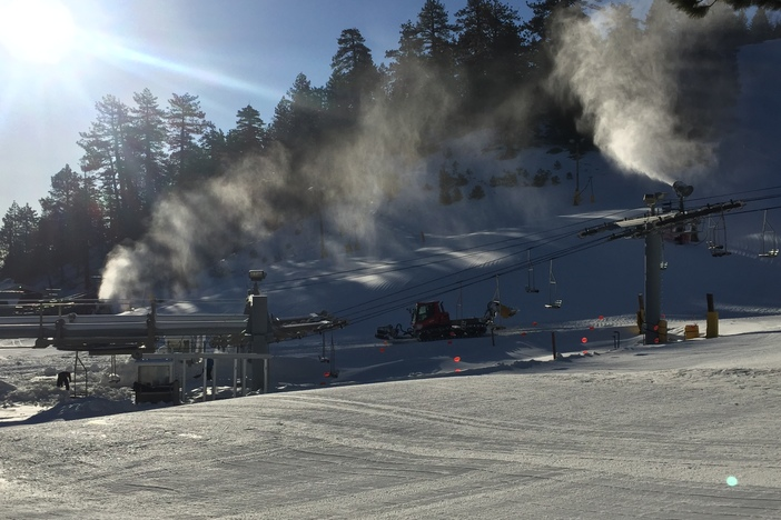 Stacking Snow Piles!