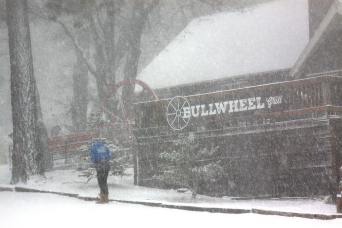 Bullwheel getting buried